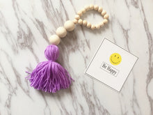 Load image into Gallery viewer, Wooden Beads With Tassel Tent
