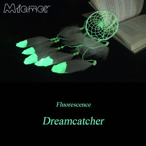 Fluorescence Dream Catcher