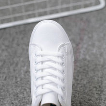 Load image into Gallery viewer, BODENSEE White Casual Sneakers