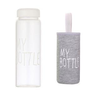 Water Bottles With Protective Bag