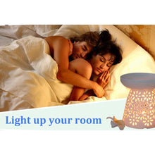 Load image into Gallery viewer, Mini Ceramic Aroma Essential Oil Lamp