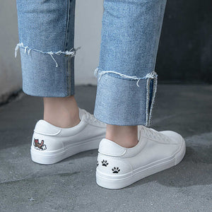 Casual White Sneakers