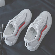 Load image into Gallery viewer, Casual White Sneakers