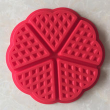 Load image into Gallery viewer, Silicone Waffle Mold