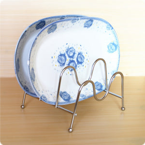 Foldable Pan Pot Lid Rack