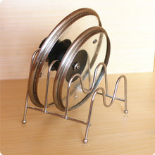 Load image into Gallery viewer, Foldable Pan Pot Lid Rack