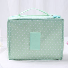 Load image into Gallery viewer, Women Makeup Floral Nylon Bag