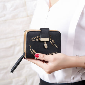 Luxury Brand Small Female Wallet