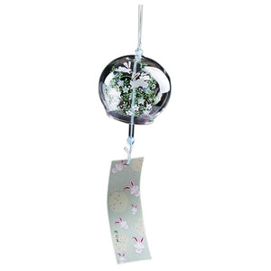 Glass Painting Wind Chimes