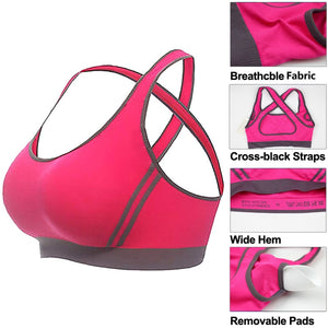 Cross Back Running Gym Vest