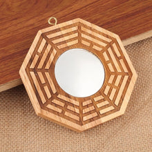 Load image into Gallery viewer, Wood Bagua Mirror