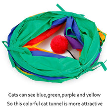 Load image into Gallery viewer, Cat Tunnel Tube