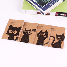 Load image into Gallery viewer, Vintage Black Cat Filofax Notepad