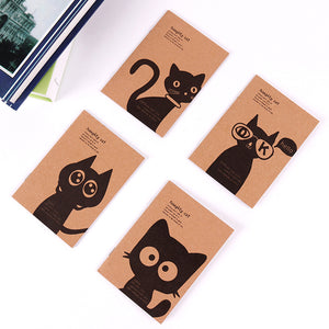 Vintage Black Cat Filofax Notepad
