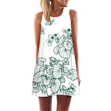 Load image into Gallery viewer, Flamingo Tunic Sleeveless Club Party Dress