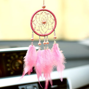 Small Pink & White &Gray Wind Chimes