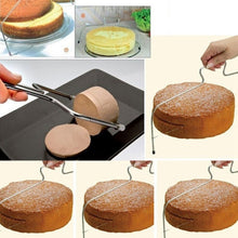 Load image into Gallery viewer, Adjustable Wire Cake Cutter