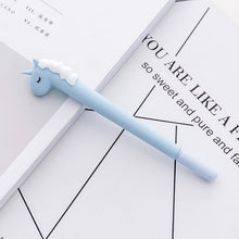 Load image into Gallery viewer, Cute Macaron Unicorn Gel Pen