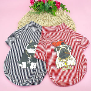 Stripe Dog T-shirt