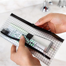 Load image into Gallery viewer, Transparent Toothbrush Bag