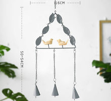 Load image into Gallery viewer, Bird Metal Wind Chime