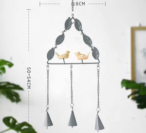 Bird Metal Wind Chime
