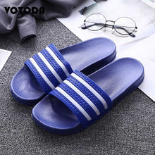 Load image into Gallery viewer, Flip Flops Striped Slippers