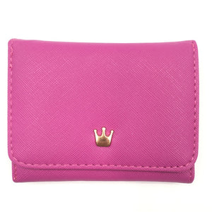Crown Decorated Mini Money Purse