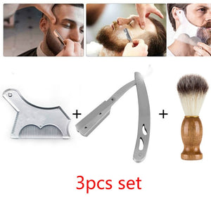 Men Beard Shaping Template Beards Comb