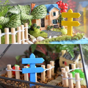 Mini Wooden Fence