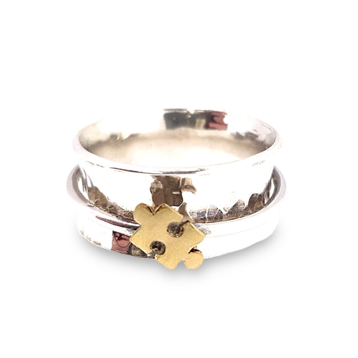 A Piece Of Me, jigsaw puzzle piece ring