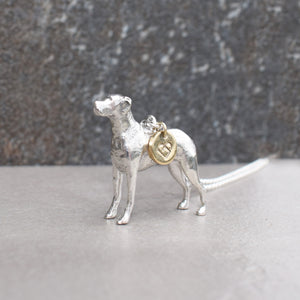 Personalise your pet in solid silver