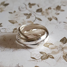 Load image into Gallery viewer, Solid silver Russian wedding ring