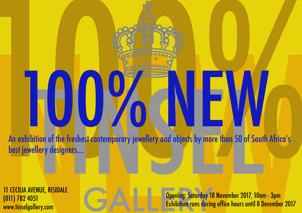 100% NEW contemporary jewellery exhibition in South Africa