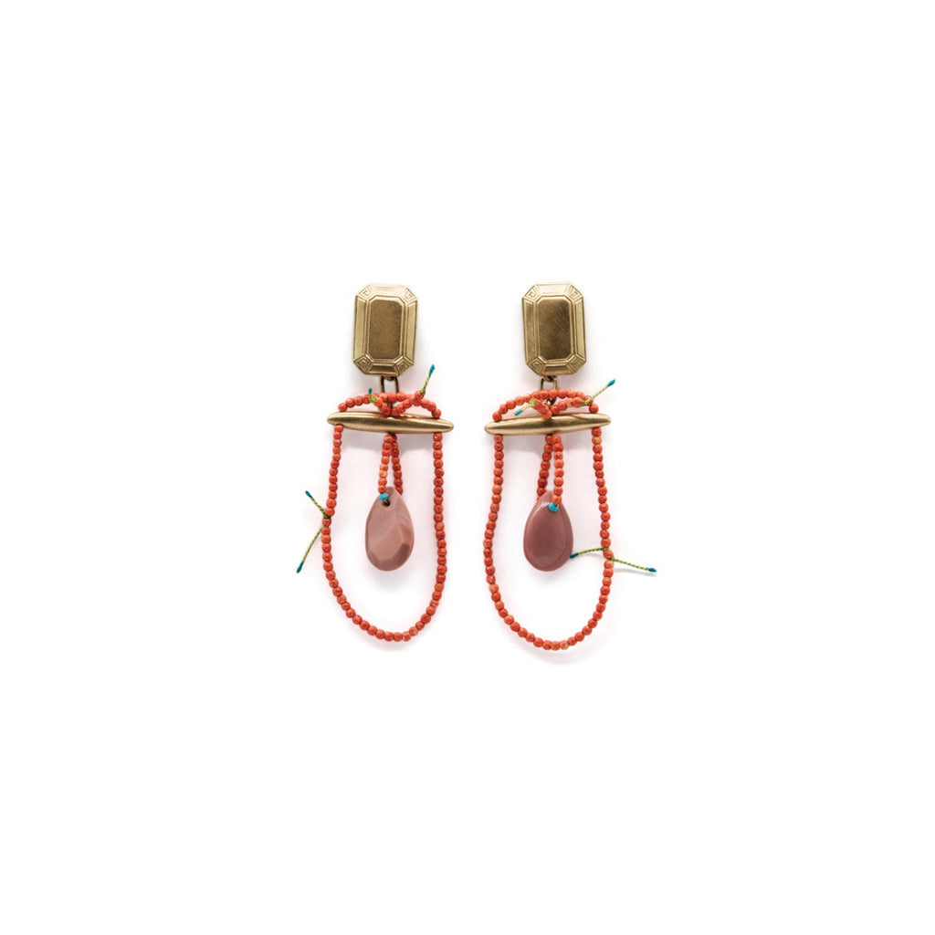 """Not His"" earrings by Eric Loubser"