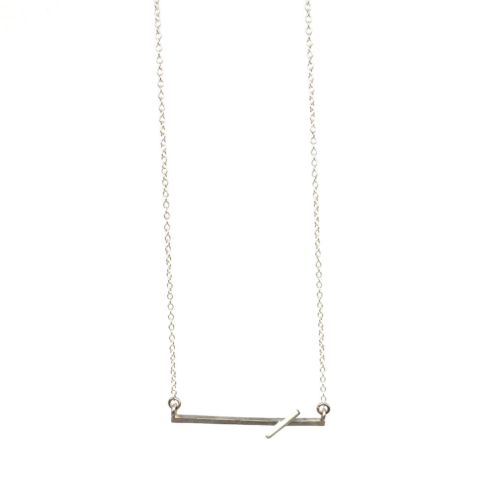Pick up stick pendant with chain - Tinsel Gallery