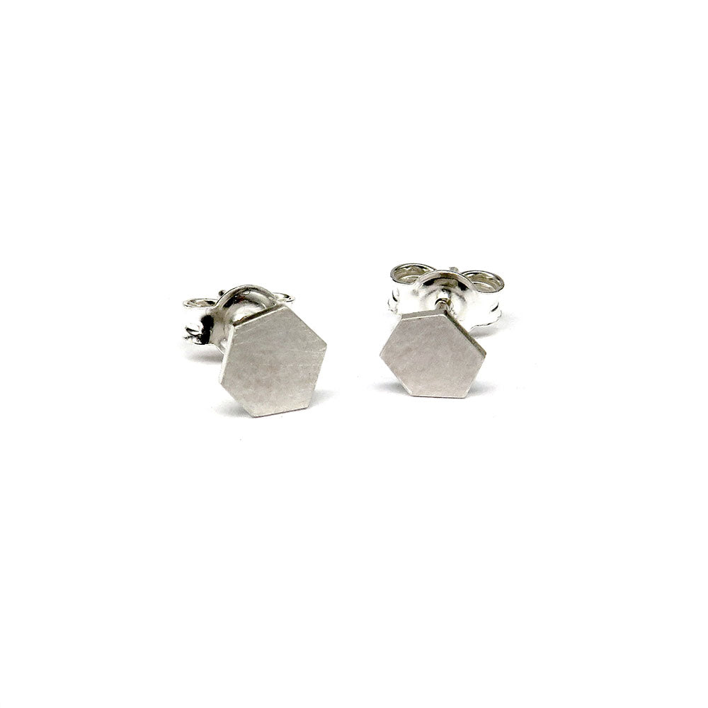 Hexagon studs - Tinsel Gallery