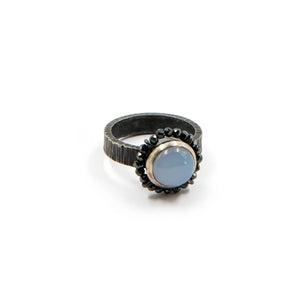 Blue stone ring by Frieda Luhl