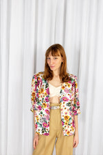 OOPSY DAISY BALOON SHIRT - PROVENZA SUMMER BOUQUET