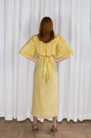 OOPSY DAISY MIDI DRESS - ORCHIDEA BANANA