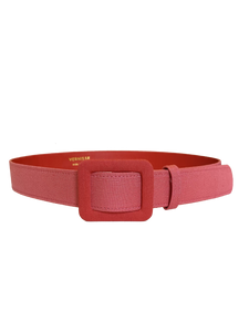DENIM BELT - STRAWBERRY