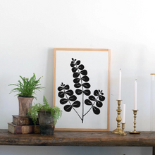 Load image into Gallery viewer, Eucalyptus Botanical Art Wood Sign