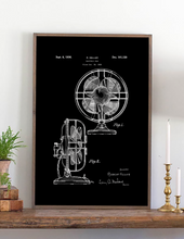 Load image into Gallery viewer, Fan Patent Wood Sign