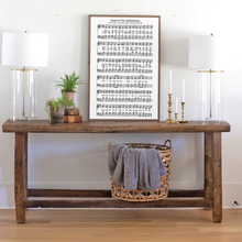 Load image into Gallery viewer, Wood sign with Great is Thy Faithfulness sheet music
