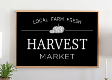Load image into Gallery viewer, Harvest Market Pumpkin Sign