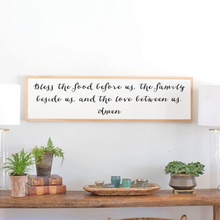 Load image into Gallery viewer, Prayer of Blessing Wood Sign