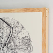 Load image into Gallery viewer, Map of New York City Wood Sign