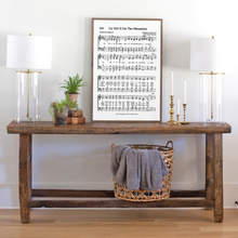 Load image into Gallery viewer, Go Tell It on the Mountain Sheet Music Sign