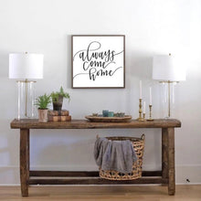 Load image into Gallery viewer, Always Come Home Wood Sign