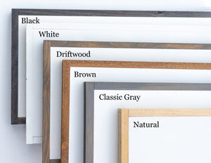 sign frame color choices